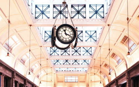 Clock of the Retiro train station - Buenos Aires, Argentina