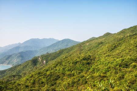 Dragon 's Back mountain trail, best urban hiking trail in Hong Kong