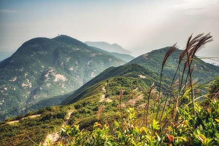 Dragon 's Back mountain trail, best urban hiking trail in Hong Kong.