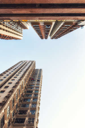 Highrise housing dominates Hong Kong's limited land mass of 1,104 km with a population of over 7 million.