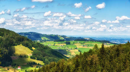 Rural Landscape near Traunsee, Upper Austria, Austria