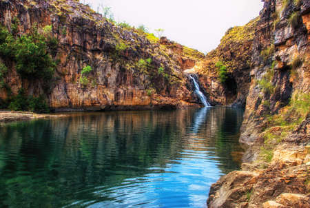 Maguk (Barramundi Gorge) - a popular swimming hole in Kakadu National Park, Northern Territory, Australia