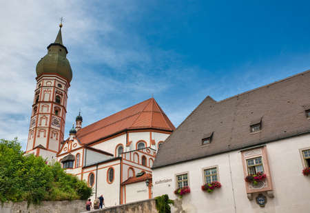 An image of the famous Andechs Monastery in Bavaria Germany