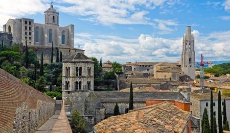 View of Girona,Catalonia.Spain