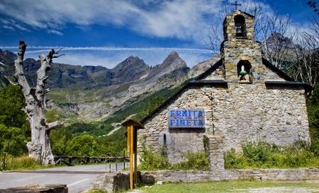 Landscape of Pineta.Huesca.Spain