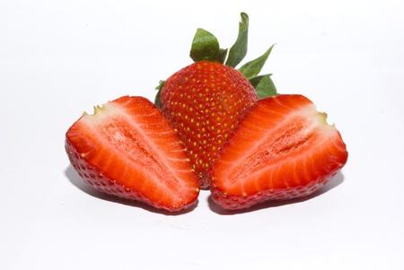 vigorously: Strawberry