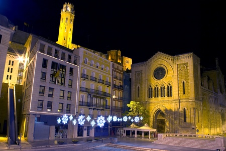 View of LLeida. photo