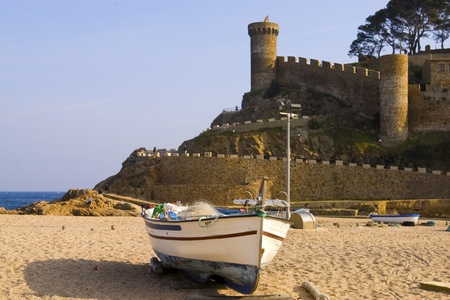 vieww of Tossa de Mar Catalonia Spain