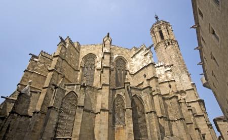 Barcelona cathedral Redakční