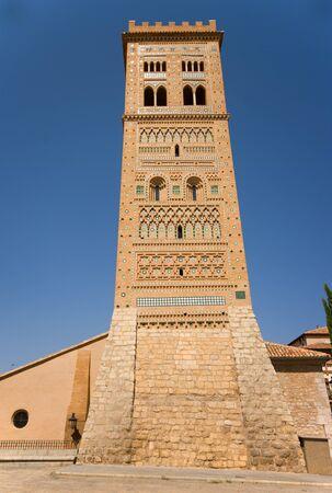 mudejar: Tower mudejar of Sant Martin Teruel Editorial