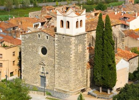 Church of Hostalric Catalonia Spain photo