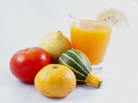 Multifruit juice photo