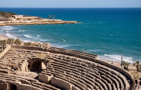 Roman amphitheater of Tarragona Catalonia Spain