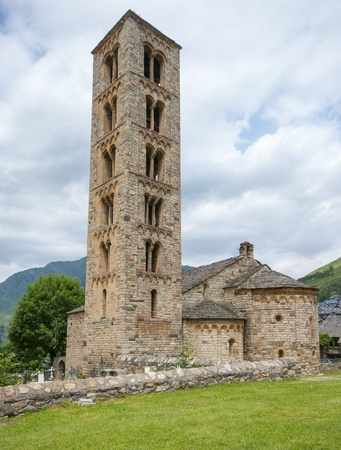 Romanesque church of Sant Climent de Taull, Catalonia, Spain  photo