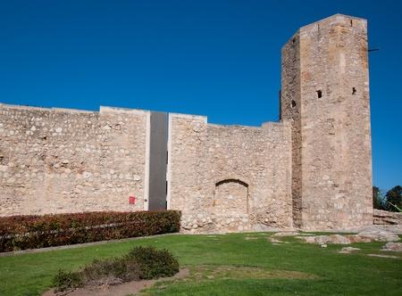 Roman wall of Tarragona.Catalonia.Spain