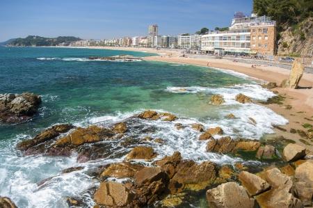 LLoret de Mar beach.Catalonia.Spain