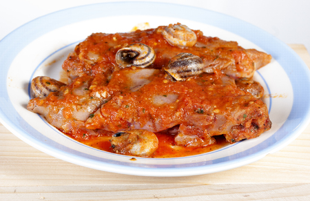 manos: pig feet typical of Spain