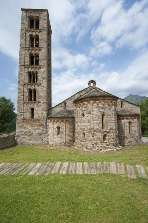 Romanesque church of Sant Climent de Taull, Catalonia, Spain  photo