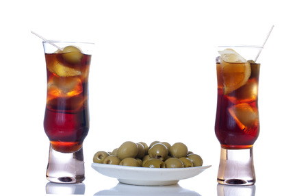 Vermouth and aperitif photo