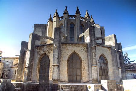 jewish quarter: View of Girona.Catalonia.Spain