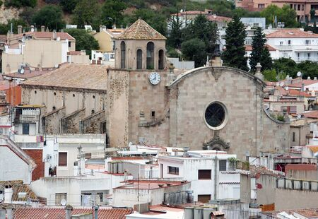 View of Tossa de Mar village.Catalonia.Spain photo