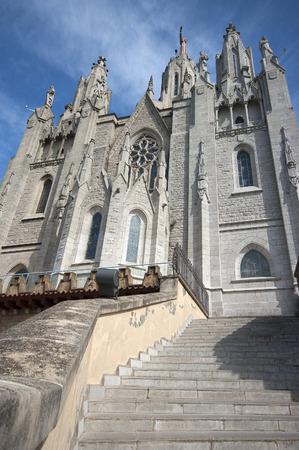 tibidabo: Tibidabo temple.Barcelona.Spain