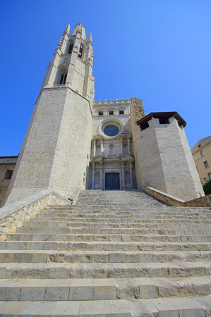 felix: Church of Sant Feliu in Girona (Saint Felix), Spain