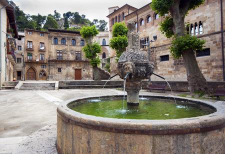 View of Estella.Navarre.Spain.the Pilgrim's Road to Santiago de Compostela Reklamní fotografie