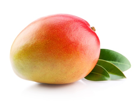 mango isolated: mango fruit isolated on white background