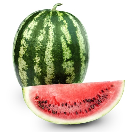 water melon: Watermelon isolated on white background
