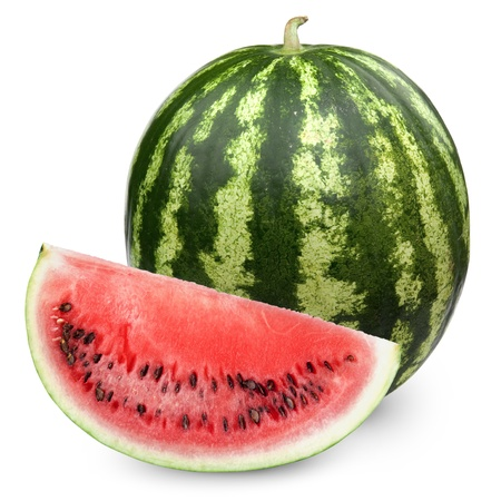 watermelon: Watermelon isolated on white background
