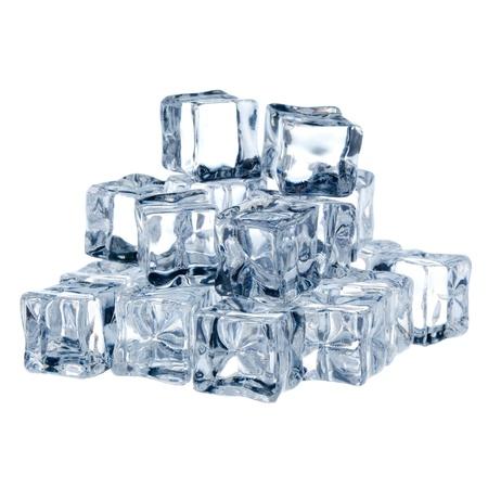 ice blocks: Ice cubes