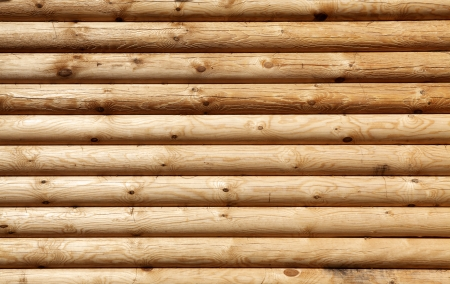 wooden texture: Shield with a large number of parallel wooden logs texture