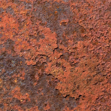 corroded: Red Rust Grunge Textured Background   Stock Photo