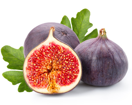 Figs fruits isolated on white Reklamní fotografie - 26223662