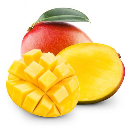 mango isolated: mango fruit Stock Photo