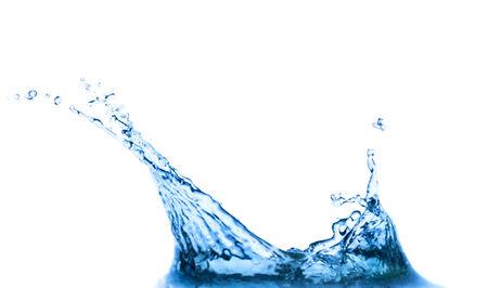 Splash isolato su sfondo bianco Archivio Fotografico - 32271473