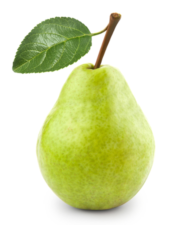 isolated white: pears isolated Stock Photo