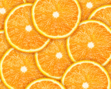 jhy: orange slices background