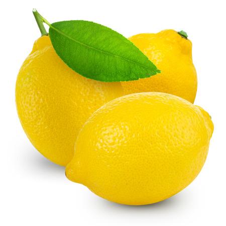 Zitronen isoliert