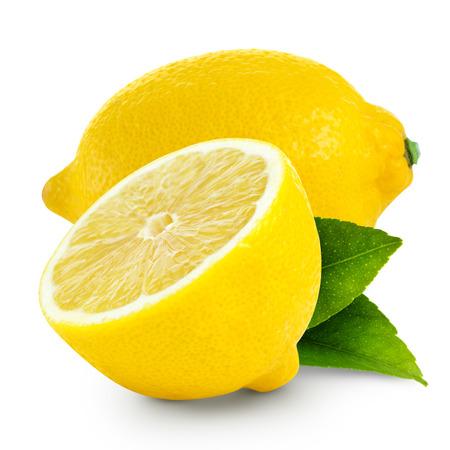 Lemon isoliert Standard-Bild - 34217607