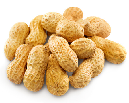 hard core: Peanuts Isolated. Clipping Path