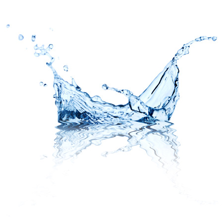 agua splash: salpicaduras de agua