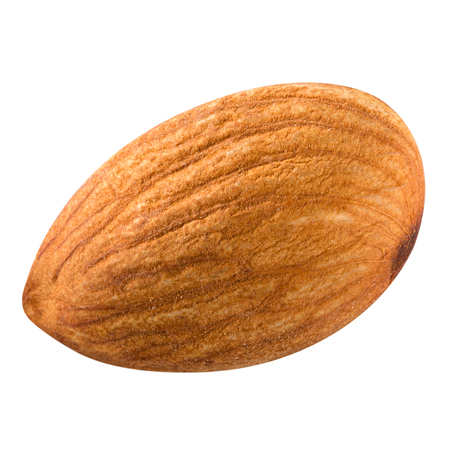 almonds nuts isolated. photo