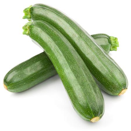 Zucchini Zucchini isoliert auf wei? Standard-Bild - 35634221