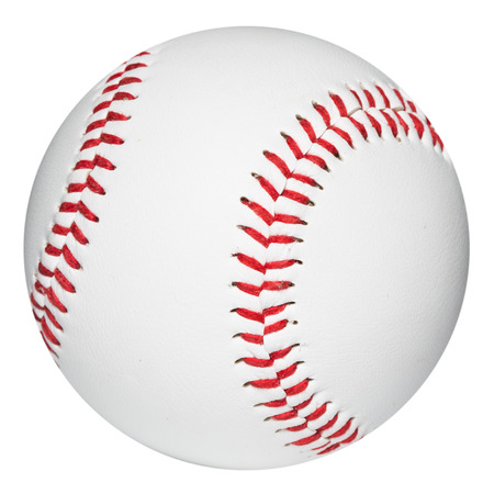 Baseball ball. Clipping Path Stock Photo - 35822892