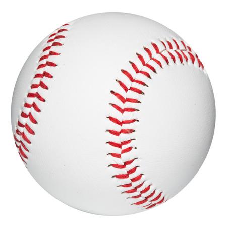 campo de beisbol: Bola del béisbol. Trazado de recorte