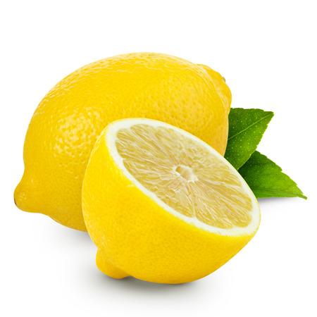 Zitrone isoliert Standard-Bild - 35823462