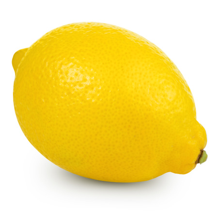 lemon: lemon isolated Stock Photo