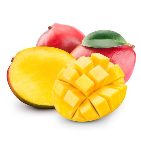 mango fruta: aislado fruta del mango